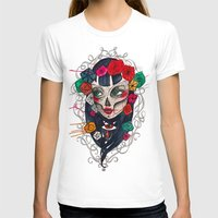mexican T-shirts featuring Mexican SK by LucreziaU's Illustration