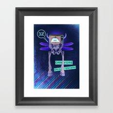 Omnivore Framed Art Print