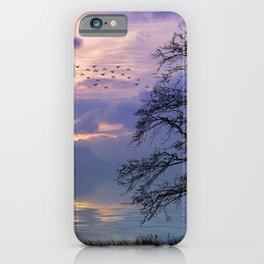 Lilac Sunset iPhone Case
