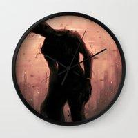 groot Wall Clocks featuring Groot by Varsha Vijayan