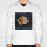 fish Hoodies featuring  Fish by Vitta