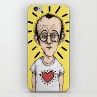 keith haring iPhone & iPod Skins featuring Keith Haring by baldur