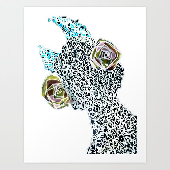 Thing Other 1/2 Art Print