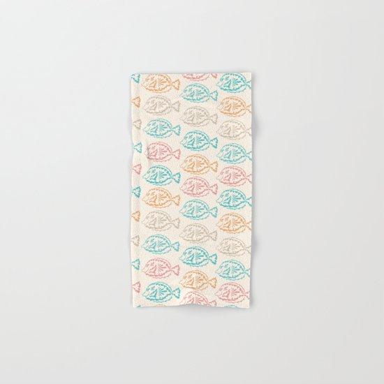 Pastel Marine Pattern 03 Hand & Bath Towel