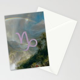 Fine Zodiac / Capricorn Stationery Cards