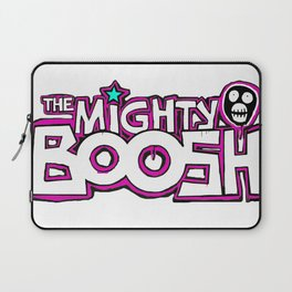 Mighty Boosh Logo, Colourful, Funky, Funny Laptop Sleeve