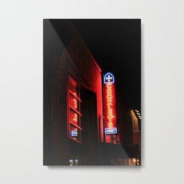 Croxleys Bar Williamsburg: New York City Metal Print