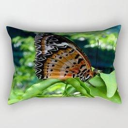 Sun bathing  Rectangular Pillow