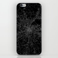 moscow iPhone & iPod Skins featuring Moscow by Line Line Lines