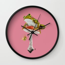 Kiss (Colour) Wall Clock