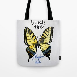 touch the kingdom tiger swallowtail butterfly Tote Bag