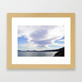 Cloudbank Framed Art Print