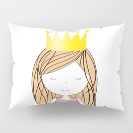 Dream Big Little Princess Pillow Sham