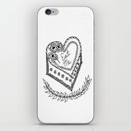 'Eat Me' Cake-- Deliver them SASS! ;) iPhone Skin