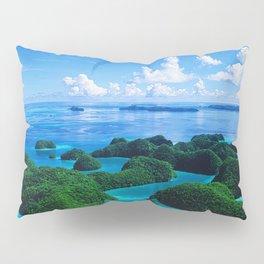 Palau Islands' Tropical Paradise Pillow Sham