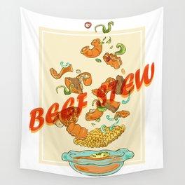 Vietnam Food Beef Stew Wall Tapestry