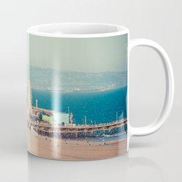 Santa Monica Beach Coffee Mug