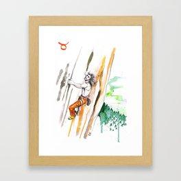 Tenacious Taurus Framed Art Print