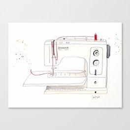Bernina Sewing Machine Canvas Print