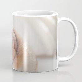 Snail shell, brown emotion Coffee Mug