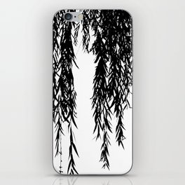willow bw iPhone Skin