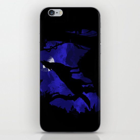 Wolf iPhone & iPod Skin