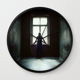 Female Shadow Wall Clock