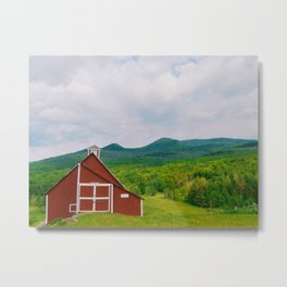 Grandview Farm Metal Print