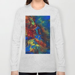 Explotion of colours Long Sleeve T-shirt