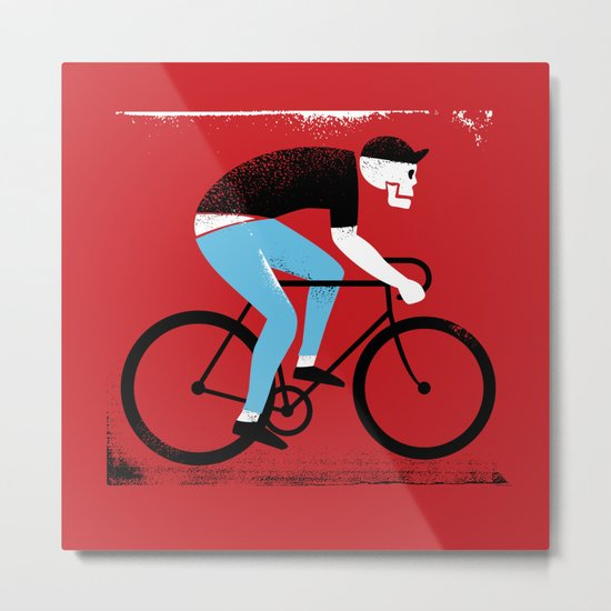 Ride or Die No. 1 Metal Print