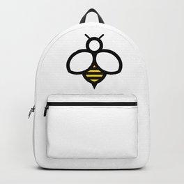 Cartoon Bee Icon Backpack