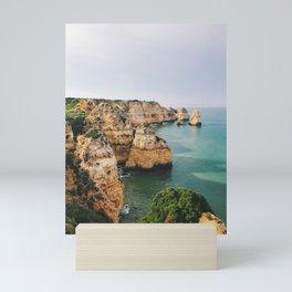 Ponta da Piedade, Lagos, Portugal Mini Art Print