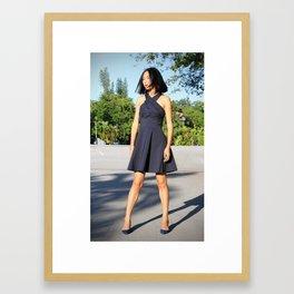 Fashioning the street Framed Art Print