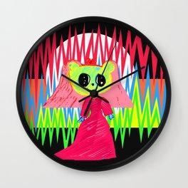 In Love   Kids Painting   by Elisavet Wall Clock