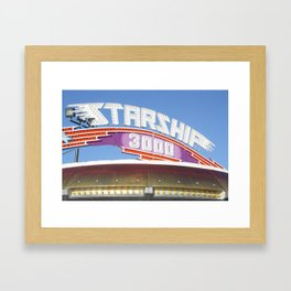 Starship 3000 Framed Art Print