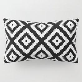 Tribal B&W Pillow Sham