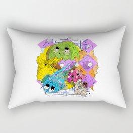 Pacman Rectangular Pillow