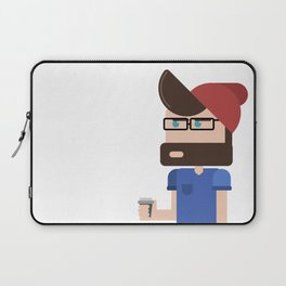 Coffee Hipster Laptop Sleeve