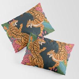 Jungle Cats - Roaring Tigers Pillow Sham