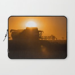 Midsummer time is harvest time of the cereal fields Laptop Sleeve