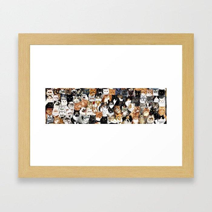 Catmina Project Framed Art Print