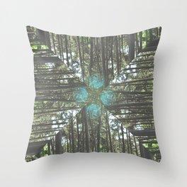 Sheringham Forest Throw Pillow