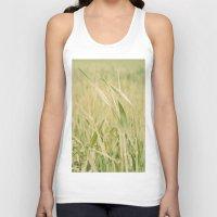grass Tank Tops featuring Grass by Yolanda Méndez