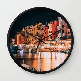 Italian nights #society6 #decor #buyart Wall Clock