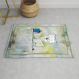 West Highland White Terrier ~ Westie ~ Sophisticated Wally ~ Ginkelmier Rug