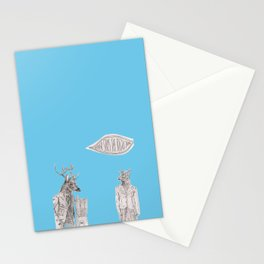 never says the right thing ... Stationery Cards