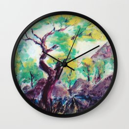 The Granite Belt, Qld, Australia                         by Kay Lipton Wall Clock