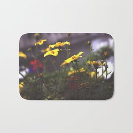 Nature - Wild Yellow Bath Mat