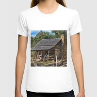 tennessee T-shirts featuring Tennessee Mountain Home by Exquisite Photography by Lanis Rossi
