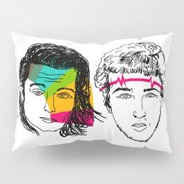 Daft Punk portrait Pillow Sham